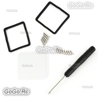 Glass Cover Lens with Screwdriver for Waterproof housing For Gopro Hero 3 - GP50