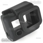 Black Soft Silicone Case Cover Protector Accessories for GoPro Hero 3 - GP55BK