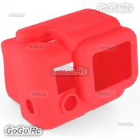 Red Soft Silicone Case Cover Protector Accessories for GoPro Hero 3 - GP55RD
