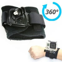 Rotation 360 Degree Wrist Hand Strap Band Holder Mount For GoPro Hero 2 3 4 GP30