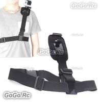 Single Shoulder Strap Mount Chest Harness Belt for GoPro Hero 1 2 3 3+ 4 - GP43