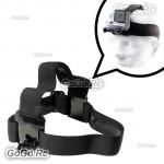 Elastic Head Strap Mount Belt Headband for GoPro Hero 4 3+ 3 2 1 - GP32