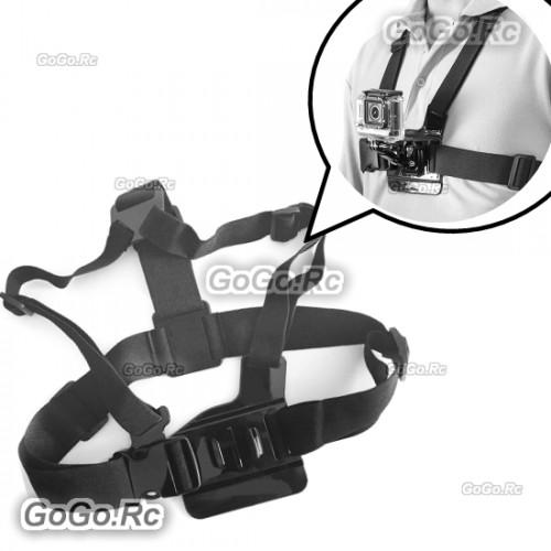 Adjustable Elastic Body Chest Strap Mount Harness for GoPro Hero 1/2/3/3+/4 GP35