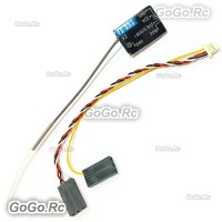 Flysky FS-A8S 2.4G 8CH Mini Receiver with PPM i-BUS SBUS Output For Rc Airplane