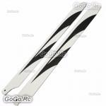 360mm Carbon Fiber Main Blades For 450L Align Trex RC Helicopter - 450L-049