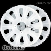 2-Piece 250 Main Drive Gear 120T For T-Rex Trex Helicopter White