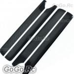 205mm Carbon Fiber Main Blade X2 For Trex 250 (RH25072-01x2)