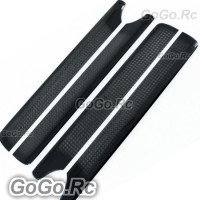 205mm Carbon Fiber Main Blade X2 For Trex 250 (RH25072-01x2)