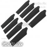 4 Set Tail Rotor Blade For T-rex 250 Helicopter (AH25084-BL)