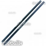 2 Pcs Tarot Tail Boom 241mm Black For T-rex Trex 250 Helicopter (RH25030-BL)