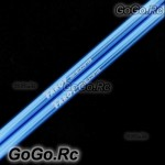 2 Pcs Tarot Tail Boom 241mm Blue For T-rex Trex 250 Helicopter (RH25030)