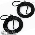 2 Pieces of Main Drive Belt For T-rex TREX 250 Helicopter