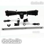 Tarot 450 DFC Main Rotor Head Upgrade Set Parts Black - RH45162-B