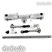 Tarot 450 DFC Main Rotor Head Upgrade Set Parts Silver - RH45162-A