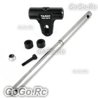 Tarot 450 DFC Main Rotor Housing Set / Blade Mounting Screw Set Black - RH45163B