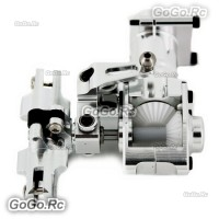 450L PRO DFC Complete Metal Tail Torque Tube Unit Silver