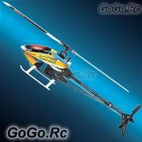 Tarot 450 Pro V2 FBL Carbon Fiber Basic Kit Trex Helicopter (RH20006-A) Black