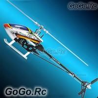Tarot 450 Pro V2 FBL Carbon Fiber Basic Kit Trex Helicopter (RH20006-B) Silver