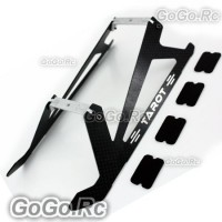 TAROT Carbon Landing Skid Set For Trex 450 Pro Helicopter (RH2775-01)