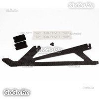 TAROT 1 Pcs Carbon Landing Skid For Trex 450 Pro Helicopter (RH2775-02)