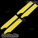 2 set Tail Rotor Blade For Trex 450 PRO Sport V3 -Yellow (RH45035-02x2)