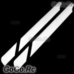 1 Pairs 430mm Glass Fiber Main Rotor Blade For Trex 500 Helicopter