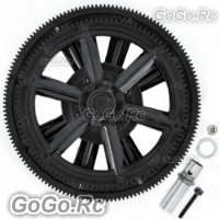 450 Main Gear Set For Trex T-Rex Helicopter SE V2 V3 Pro Sport - Black (V2-127)