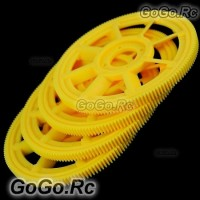 4x Main Drive Gear For T-rex 450 Helicopter (RHS1219-YY)