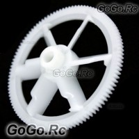 2x 450 Tail Drive Gear for Align Trex T-rex Helicopter White (LHS1220-WH)