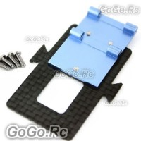 450 Carbon Battery Mounting Plate for Trex T-Rex Helicopter (L450066)