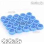Tarot ΦM3 Main Frame Hardware Washers Body Gaskets Blue - RH2820-01