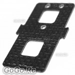 450 Carbon Battery Mounting Plate for Trex T-Rex Helicopter - 55mm (L45066A)