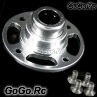 Tarot CNC Main Gear Case one way For T-rex 450 Helicopter Silver (RH1228-03)