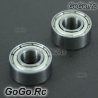 2 Pcs 685ZZ Main Shaft Bearing 5mm*11mm*5mm For T-Rex 450 SE V2 Sport Pro