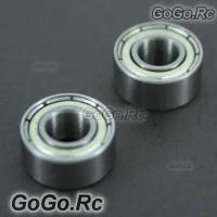 2 Pcs 685ZZ Main Shaft Bearing 5mm*11mm*5mm For T-Rex 450 SE V2 Sport Pro