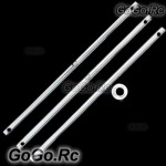 3x 450 Main Shaft Compatible with T-rex Trex 450, 450 (RHS1011)