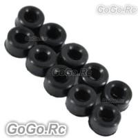 Sale 10x Damper Rubber 80° For Trex 450 SE 3mm Feathering (RHS1291-01)