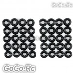 40 pcs 3MM Feathering Shaft O-Ring For T-REX Trex 450 Helicopter (CAHS1186)
