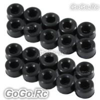 Sale 20x Damper Rubber 80° For Trex 450 SE (RHS1291-01X2)
