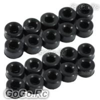 Sale 20x Damper Rubber 80° For Trex 450 V2 SPORT PRO 4mm Feathering RHS1291-02X2