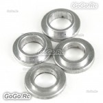 4 Pcs Feathering Shaft Spacer Collar For T-Rex Trex 450 SE V2 Helicopter - CA031