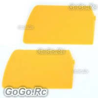 Yellow Flybar Paddle for Align T-Rex 450 Helicopter (RHS1191-02)