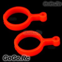 Plastic Tail Linkage Rod Fluorescent Orange for Trex 450 Sport V3 (RH1277B)