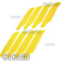 4set Tail Rotor Blade For T-rex Trex 450 (RHS1208-YY)