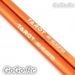 Tarot 2x Orange Tail Boom Φ11xΦ12.07x405mm For 450 - 480 Helicopter RH48002-02