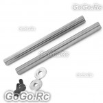 2 pcs Tarot 500 DFC Feathering Shaft (RH50902)