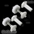 Torque Tube Front Drive Gear Set For Trex 500 - White - RH50096