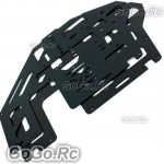 2 Pcs Metal Main Frame Black for Trex T-rex 500 Helicopter (GH500-005)