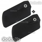 Upgrade Flybar Paddle Black For T-Rex Trex 500 Helicopter