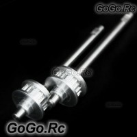 2 Piece of  Tail Rotor Shaft Assembly For T-Rex Trex 500 Helicopter